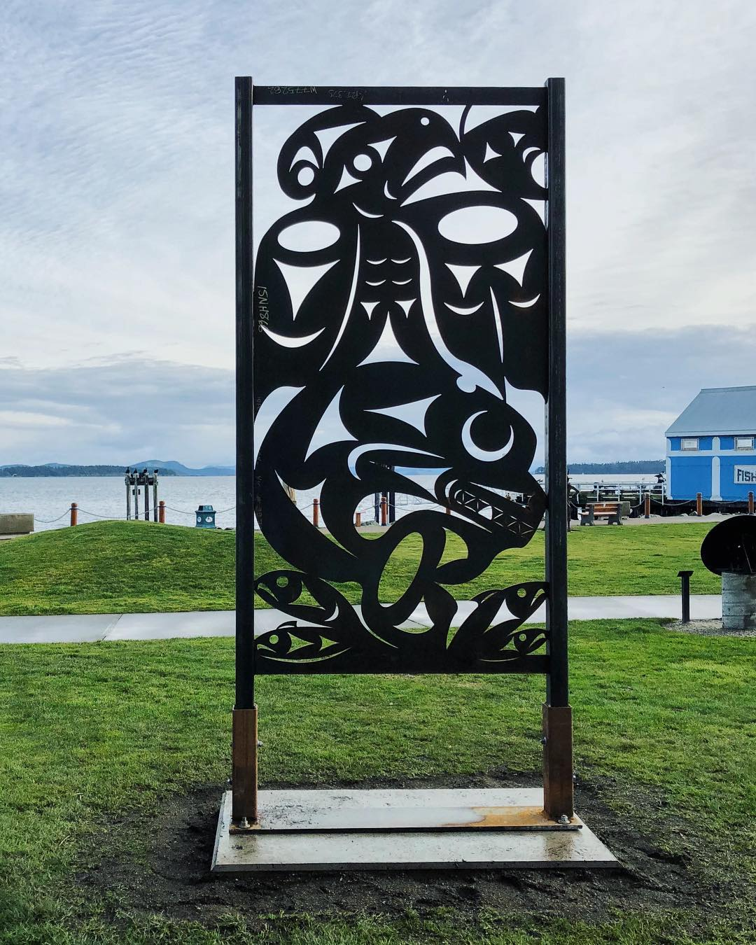 sidney bc public art sculpture